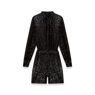 Sequin playsuit - Evening Capsule : Astro Club - MAJE